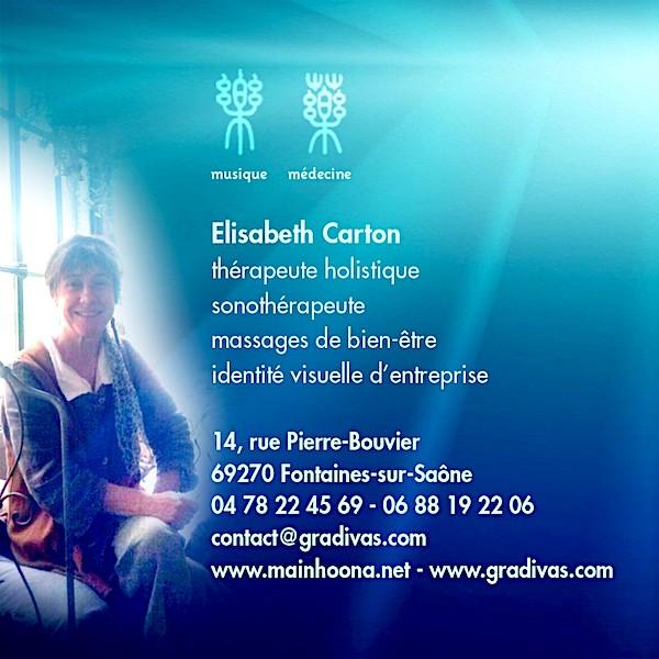Carton Elisabeth carte de visite