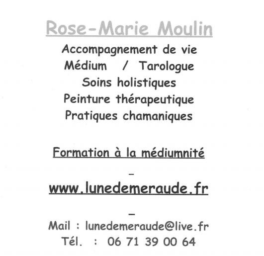 Rose Marie Moulin carte de visite
