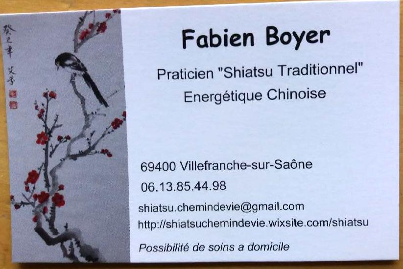 Fabien Boyer carte de visite