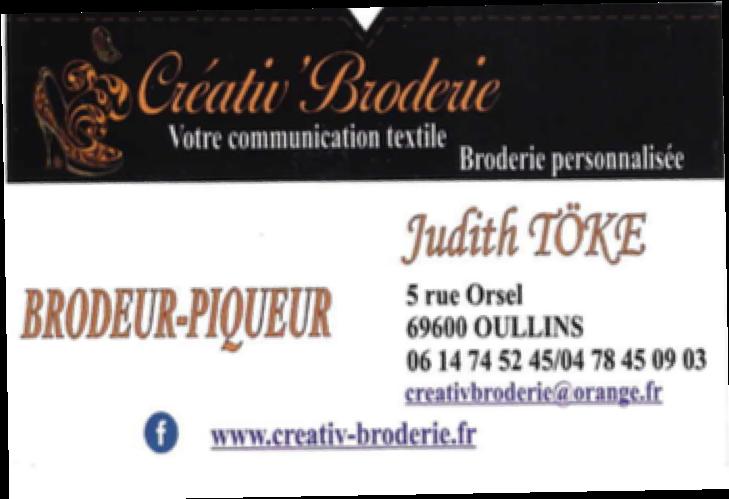 Judith Toke carte de visite