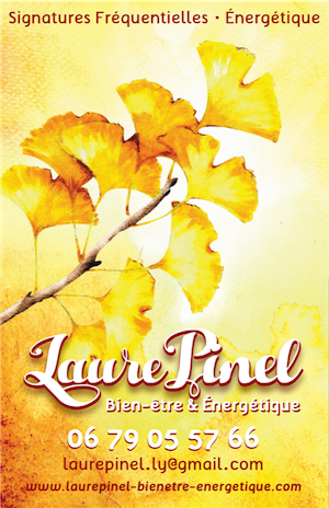 Laure Pinel carte de visite