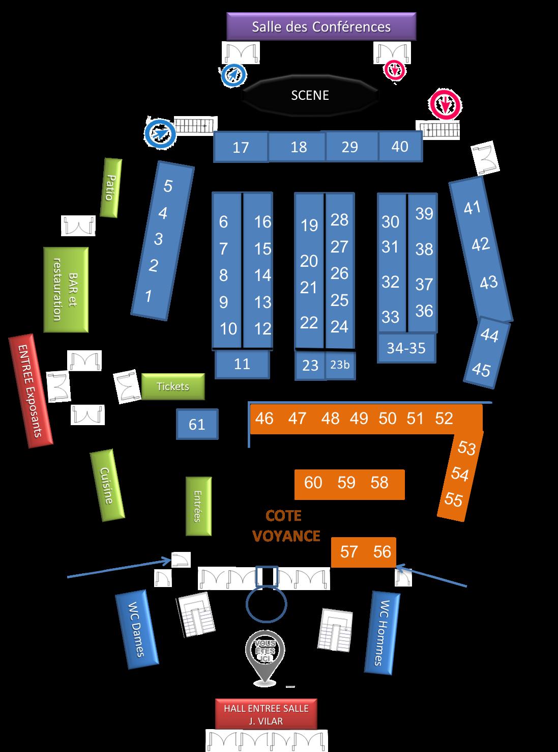 Plan schéma site